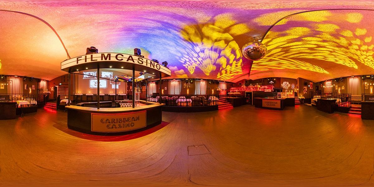 Virtueller Rundgang 360° Filmcasino Dinnerclub München