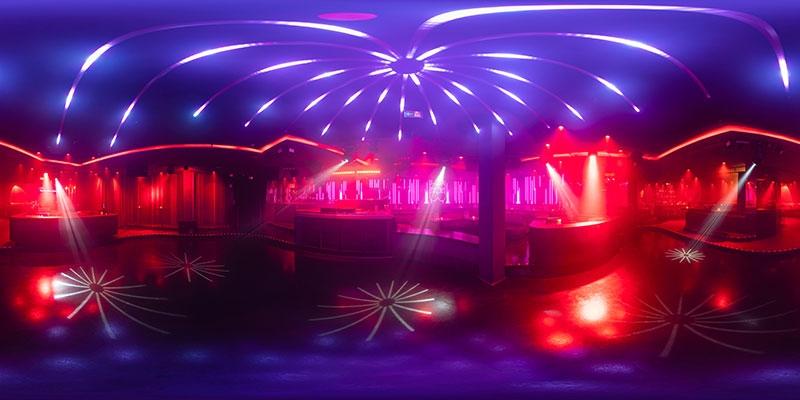 Virtueller Rundgang 360° Pacha Nachtclub München